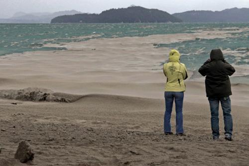Volcán Puyehue, miedo y cenizas en el sur