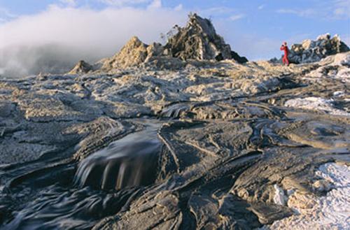 Ol Doinyo Lengai, extraño volcán en Tanzania